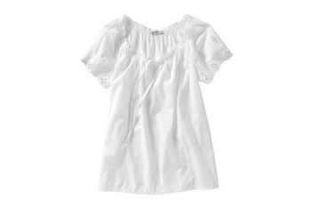 Eyelet flutter sleeve top from OldNavy.com, $24.50