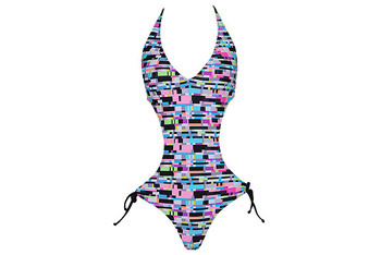 Circuitry halter style monokini from Forever21.com, $19.80