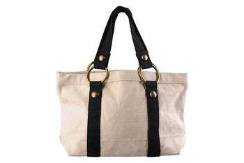 Canvas tote bag from Forever21.com, $12.50