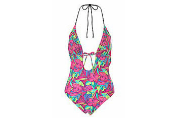Jungle print swimsuit from NewLook.com, $30