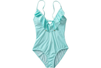 Ruffled swimsuit from OldNavy.com, $19