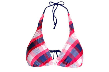 Plaid bikini top from GarageClothing.com, $18.90