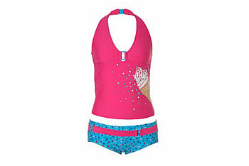 Ice cream tankini from NewLook.com, $20