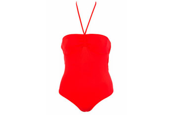Ruch halter neck one piece from Topshop.com, $50
