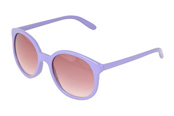 Lilac sunglasses from Forever21.com, $5.80