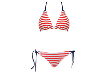 Nautical Stripe bikini from Forever21.com, $20
