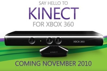 Microsoft Kinect coming November 2010