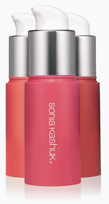 Sonia Kashuk Super Sheer Liquid Tint in Peony, Rose and Poppy, $9.99