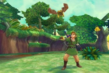 Zelda Skyward Sword screenshot