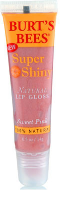 Burt's Bees Super Shiny Natural lipgloss in
