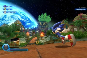 Sonic Colors screenshot