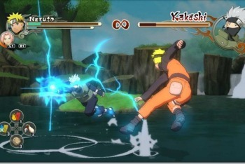 Naruto game screenshot