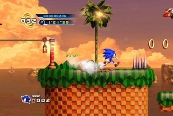 Sonic 4 screenshot