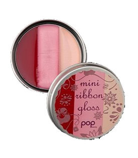 Pop Beauty Mini Ribbon gloss in Peony Pink, $6