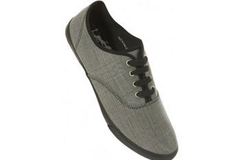 Grey sneakers from www.Topman.com, $20