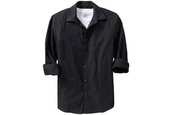 Patterned dress shirt from www.OldNavy.com, $24.50