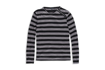 Striped longsleeve knit top from www.Forever21.com, $18.90