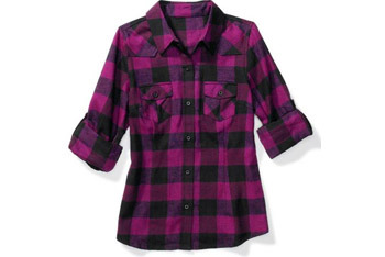 Western shirt by Miley Cyrus and Max Azria for Wal-Mart, $8