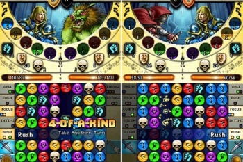 Puzzle Quest 2 Screenshot battle