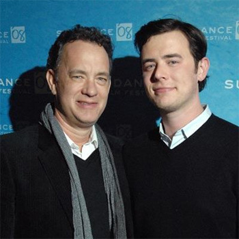 Tom Hanks with son Colin Hanks