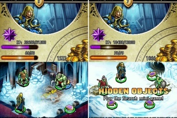 Puzzle Quest 2 Screenshot dungeon