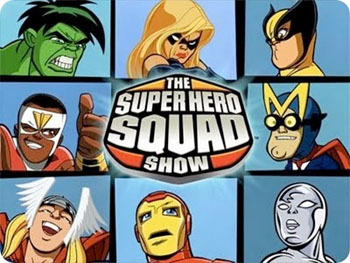 The Super Hero Squad Show: Quest for the Infinity Sword Volume 1 DVD