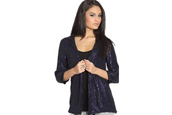 Sequin boyfriend blazer from Asos.com, $35