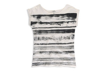 Faded stripe front top from Forever21.com, $14.90