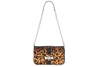 Leopard clutch bag from Target.com, $39