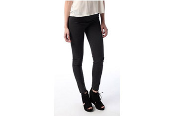 BDG charcoal denim leggings from UrbanOutfitters.com, $39