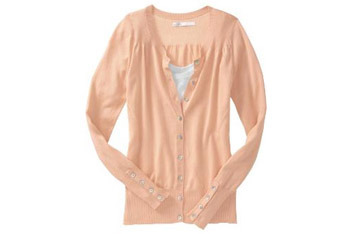 Pointelle trim cardigan from OldNavy.com, $26.50