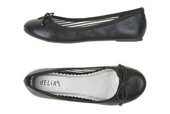 Margot ballet flats from Delias.com, $39