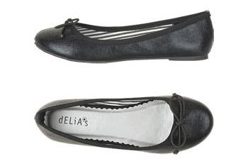 Margot ballet flats from Delias.com, $39