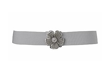 Mesh flower belt from NewLook.com, $12