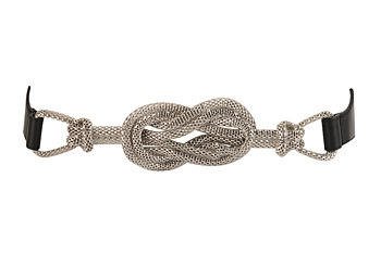 Eternity knot belt from Forever21.com, $8.80