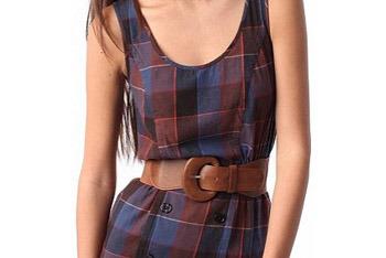 BDG brown waist belt from UrbanOutfitters.com, $20