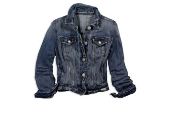 Denim jacket from American Eagle, $49