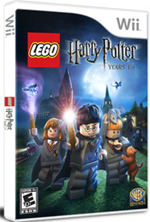 LEGO Harry Potter on broom