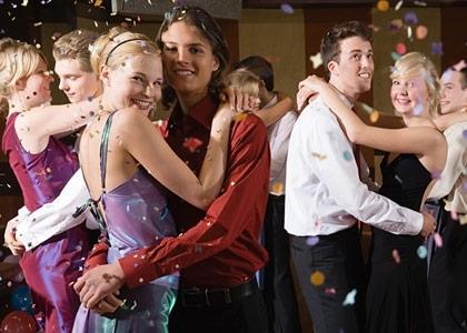 Grad Dancing