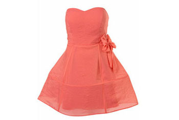 Organza bow hoop dress by Rare from Topshop, $120