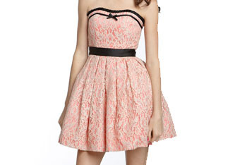 Way-In Lace party dress from Nordstrom, $78
