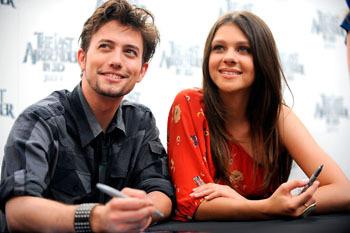 Jackson Rathbone and Nicola Peltz
