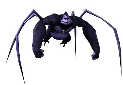 Ultimate Spidermonkey Ben 10 Ultimate Alien: Cosmic Destruction