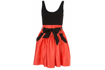 Dress from Topshop, $60