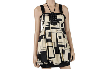 Graphic printed dress from Forever 21, $39