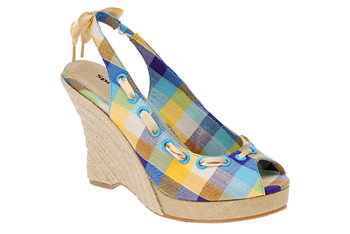 """""""Kailyn"""" plaid espadrilles from Myspringshoes.com, $19"""