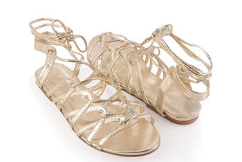 Elegance Lattice sandal from Forever21.com, $18.80