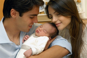 Kaka, Caroline and Luca