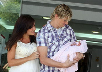 Fernando Torres, Olalla Dominguez and Nora