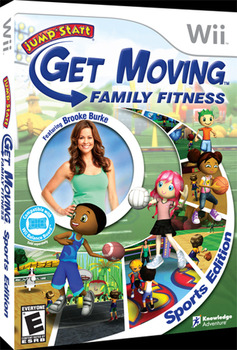 Get Moving Family Fitness Sports Edition for Wii